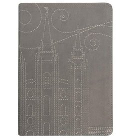 Stitched Temple Journal, Gray