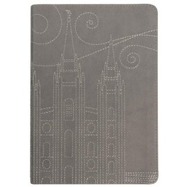 Covenant Communications Stitched Temple Journal, Gray