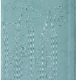 Stitched Temple Journal, Blue
