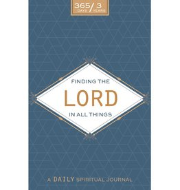 Finding the Lord in All Things: A Daily Spiritual Journal: Neutral Design