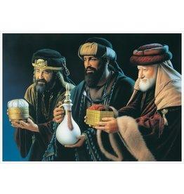 "We Three Kings, by Simon Dewey.  5""x 7"" Print"