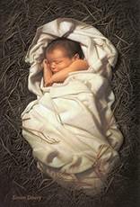 Altus fine art For Unto Us A Child Is Born 5x7 Print Simon Dewey
