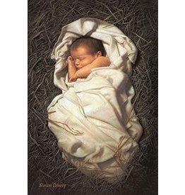 "For Unto Us A Child Is Born, by Simon Dewey. 5""x 7"" Print"