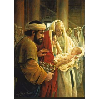 Deseret Book Company (DB) A Light To The Gentiles 5x7 Print Greg Olsen