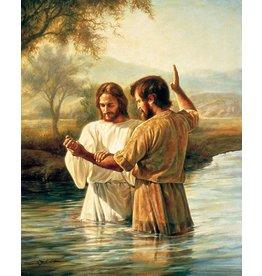 "The Baptism, by Greg Olsen. 5""x 7"" Print"