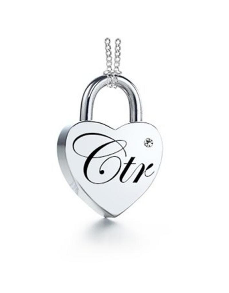CTR Love Lock Necklace