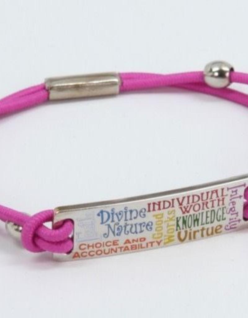 YW Values Bungee Bracelet