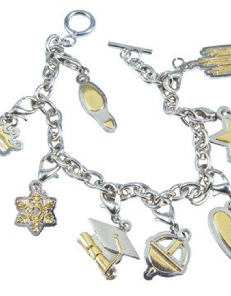 Young Women Values Charm Bracelet