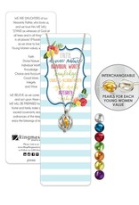 Young Women Bookmark & Interchangeable Necklace