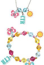 Sunshine CTR Necklace & Bracelet Set