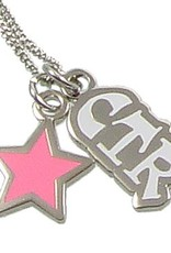 CTR Star Necklace Pink