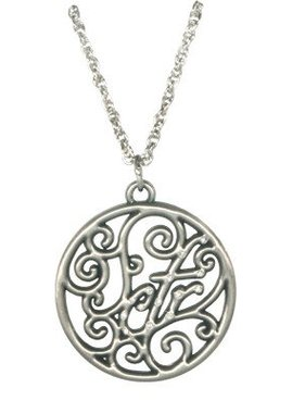 CTR Scroll Necklace