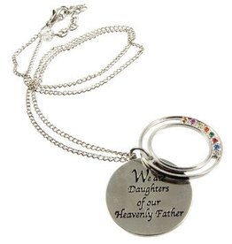 Young Womens Daughters Of Virtue Necklace