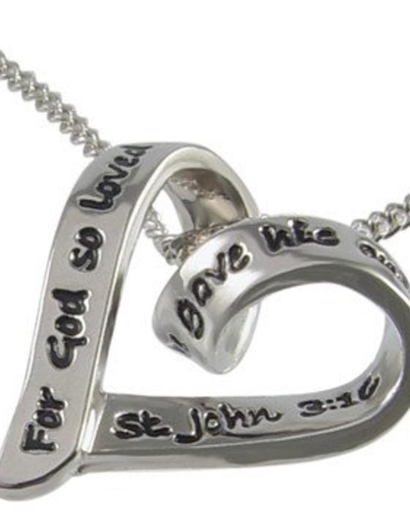 God So Loved The World  Necklace