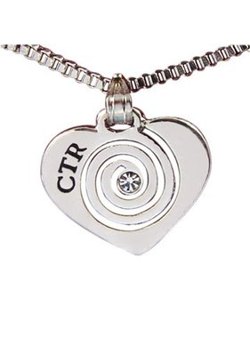 CTR Heart with Stone Necklace