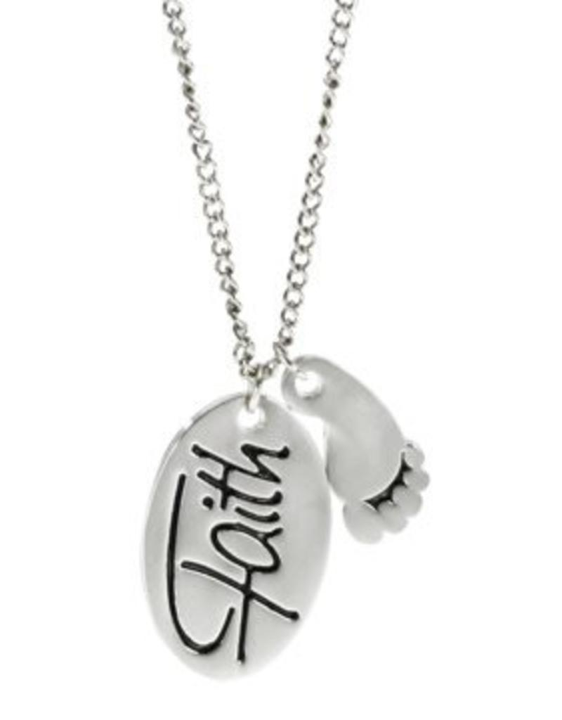 Faith In Every Footstep Necklace