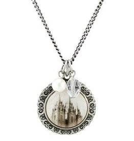 Salt Lake Cameo Necklace