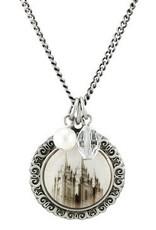 Salt Lake Cameo Necklace