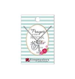 Prayer Key Necklace