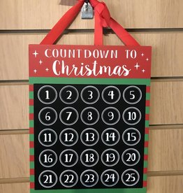 Countdown To Christmas with Chalk