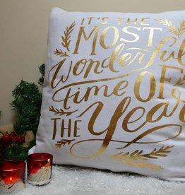 Most Wonderful Time Cushion