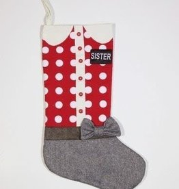 Large Sister Missionary Stocking
