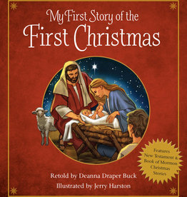 My First Story of the First Christmas Board Book