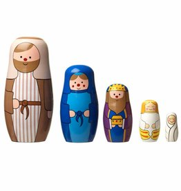 Nativity Russian Dolls