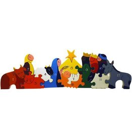 alphabet jigsaws Nativity Handcrafted Jigsaw puzzle