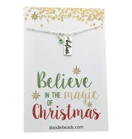 Believe In The Magic of Christmas Necklace