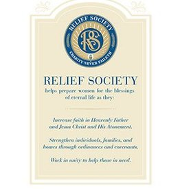Distribution- Online Relief Society Poster
