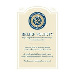 Relief Society Poster