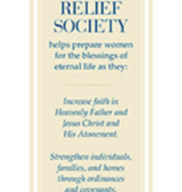Distribution- Online Relief Society Bookmark
