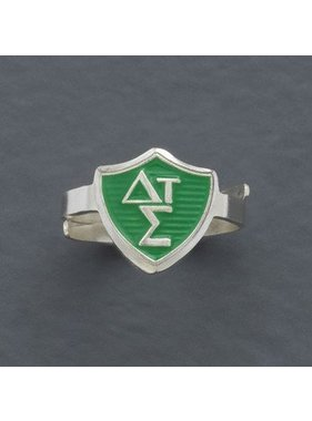 Adjustable Greek CTR Ring
