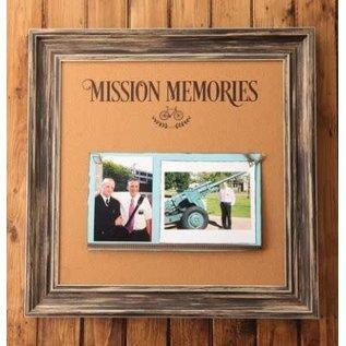 Seagull Books 16'' X 16'' MISSION MEMORIES CORKBOARD