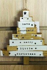 Have yourself a merry little Christmas wooden decoration