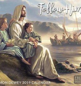 Altus fine art 2019 Simon Dewey Calendar - Follow Him
