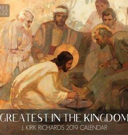 Altus fine art 2019 J Kirk Richards Calendar - Greatest in the Kingdom