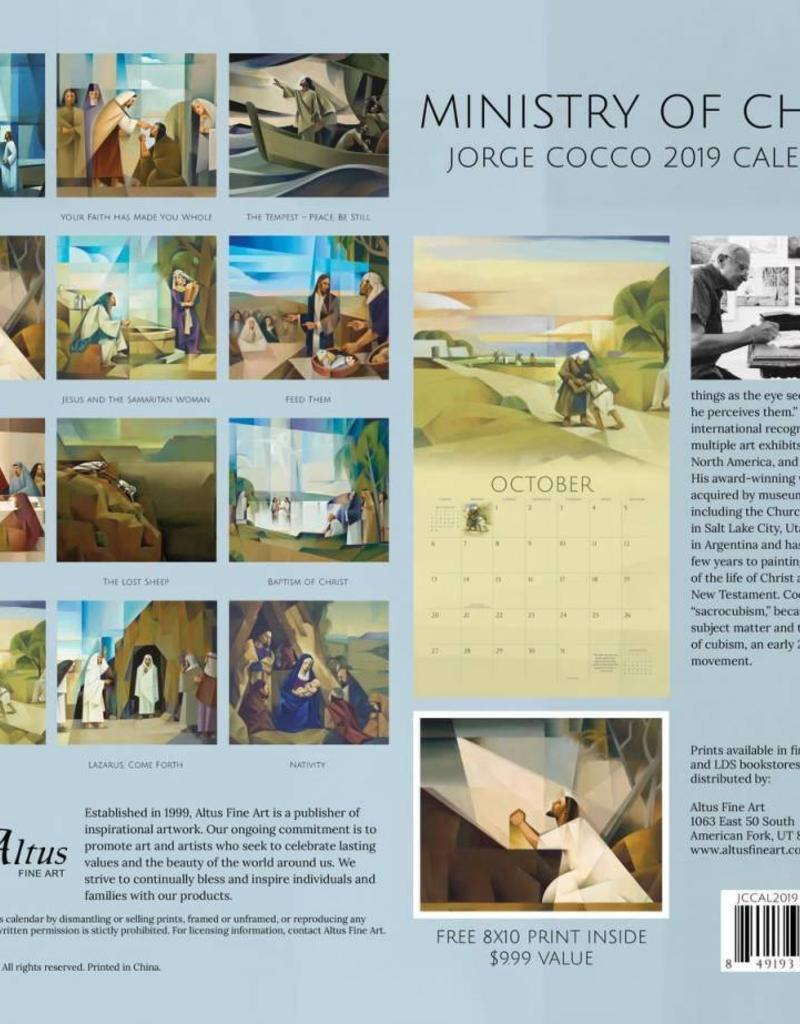 Altus fine art 2019 Jorge Cocco Calendar - Ministry of Christ