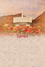 Altus fine art 2019 Mandy Jane Williams calendar - I Love to see the Temple