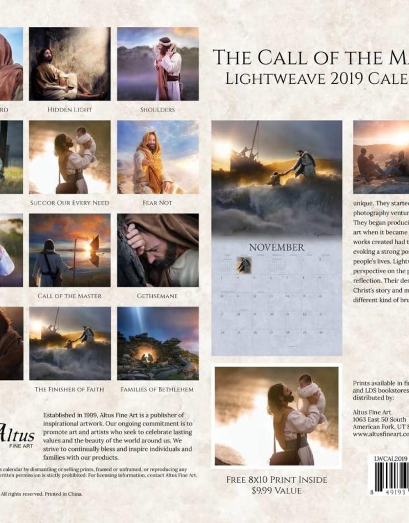 Altus fine art 2019 Kelsy & Jesse Lightweave Calendar - The Call of the Master