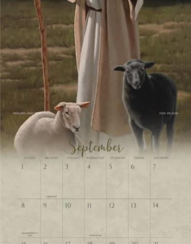 Altus fine art 2019 Dan Wilson Calendar - Peace in Christ