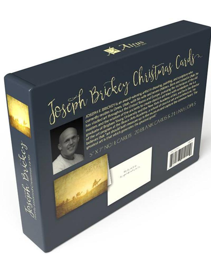 "Altus fine art Joseph Brickey ""Caravan in the Desert"" Christmas Greeting Card Box (20 cards)"