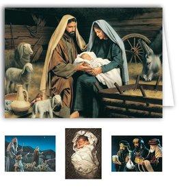 Altus fine art Simon Dewey Christmas Greetings Card Box (20 cards)