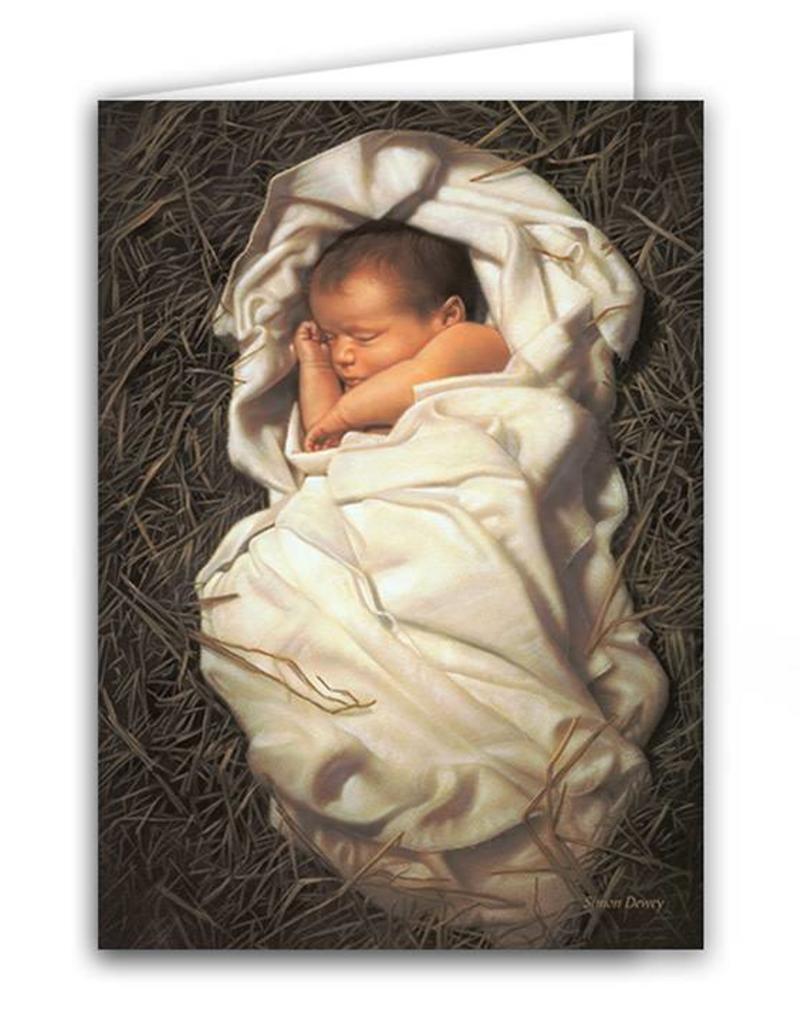 "Altus fine art Simon Dewey ""For unto us a Child is Born"" Christmas Card Box Set (20 Cards)"