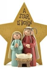 A Star is Born Nativity Ornament