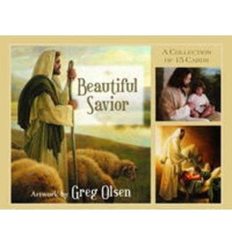 "Beautiful Savior Cards, picture packet containing fifteen 3"" x 4"" prints from the best-selling book"