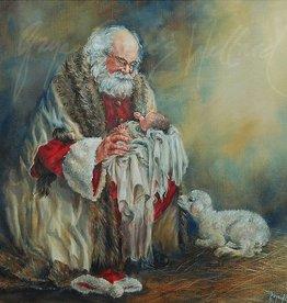 Behold The Lamb by Gaye Francis Willard Individual Christmas Card