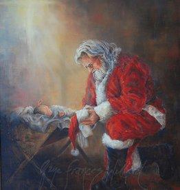 Every Knee Shall Bow by Gaye Francis Willard Individual Christmas Card