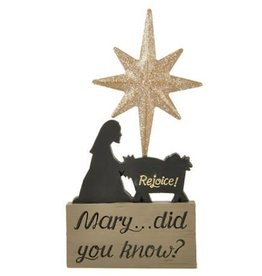 blossom bucket Mary...Did you know? Ornament